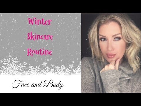 OVER 40 ANTI-AGING Winter Skincare Routine (Day and Night)