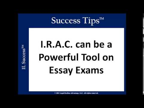 Succeeding on Law School Essay Exams