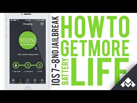 How to get Up To 2 days of battery life(OS 7/8-No Jailbreak)