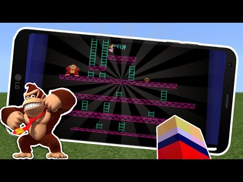 DONKEY KONG LEVELS IN MINECRAFT 1.2 !!!