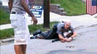 Civilian hero risks life to save cop fighting suspect resisting arrest in Cincinnati - TomoNews
