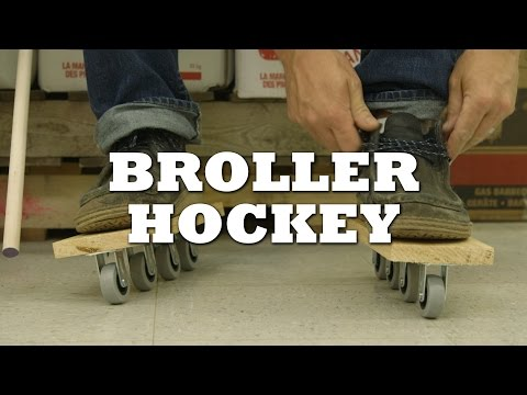 How to Play Broller Hockey