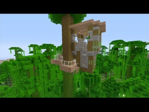 How to Build a Tree House in Minecraft