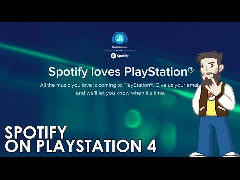 Spotify loves Playstation 4 - Quick overview of Spotify for PS4
