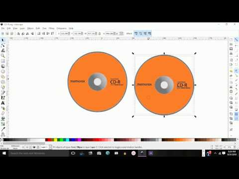 How to Change Colors on duplicated objects in Inkscape