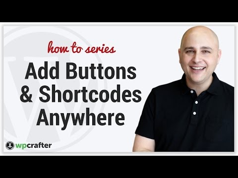 How To Add Shortcodes Or Buttons In The WordPress Header & Widget Areas