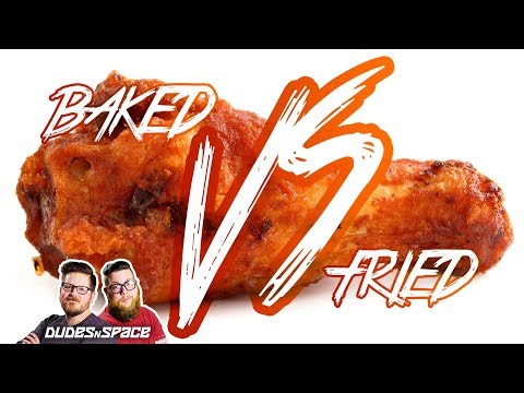 Hot Wings | Baked VS Fried