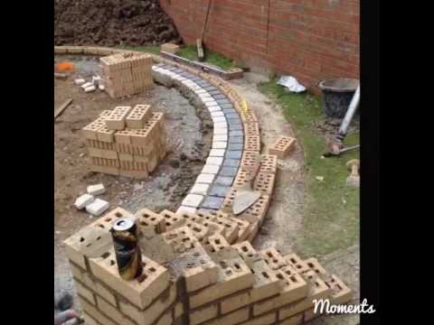 How to re landscape a garden, Claystacker,  Makeover Withernsea 2016 (MKM) & Tim 🐱