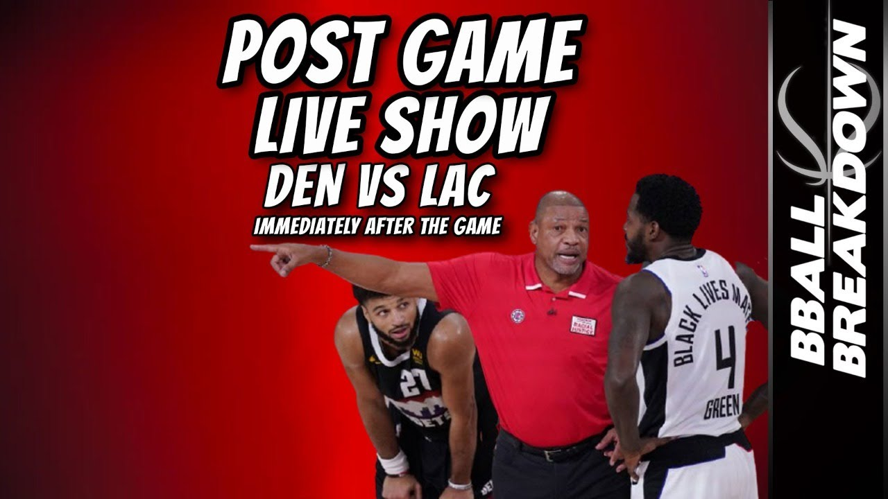 Nuggets vs Clippers Game 7 LIVE Post Game Show