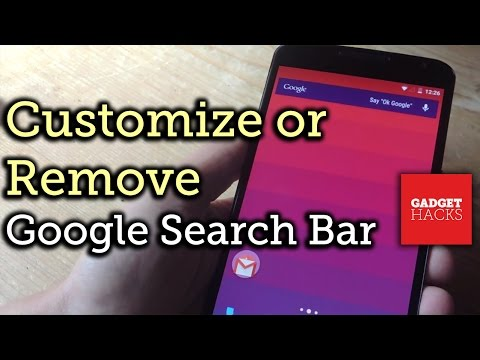 Customize or Remove the Google Now Search Bar on Android [How-To]