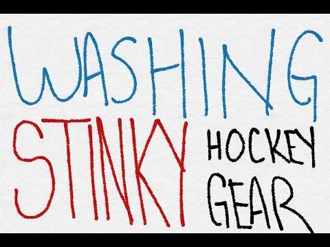 Washing STINKY Hockey Gear!