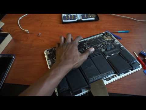 How to Fix Apple Macbook Pro 13-inch with Retina Display Battery issue | Replacement tutorial