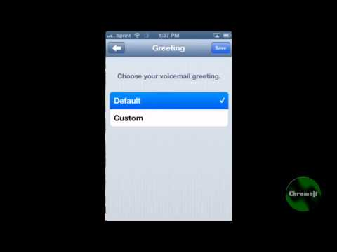 How to setup voicemail