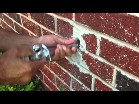 How to replace outdoor Faucet