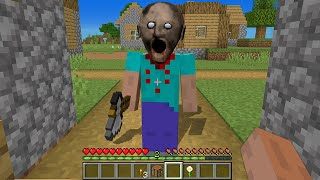 RUN away FROM this GRANNY in MINECRAFT by SCOOBY CRAFT