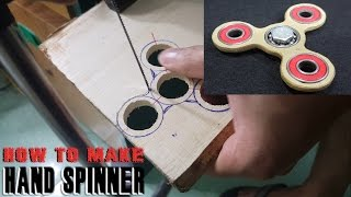 Download How To Make a HAND SPINNER, FIDGET TOY at home Video