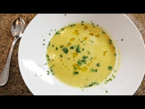 Summer Squash Soup with Leeks