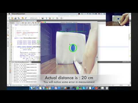 Real-time Distance Measurement Using Single Image