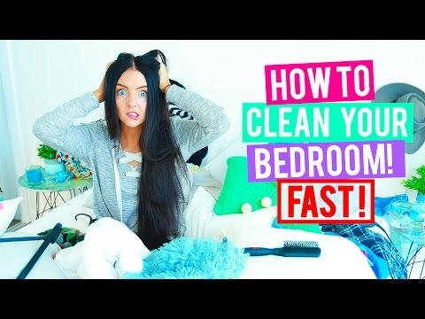 How To Clean Your Room Fast + Cleaning Hacks & Organisations Tips + Tricks.