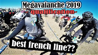 The best french line in Megavalanche history?? - Overtaking 100 riders in Qualifying (2019)