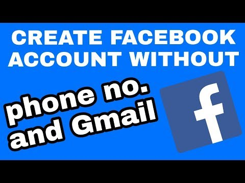 how to create facebook account without phone number and email