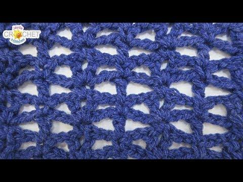 Little Fishes Crochet Stitch - Calendar Blanket - January