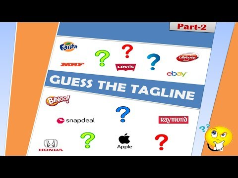 Quiz Can You Guess The Products To These Tagline/Punchline Part-2