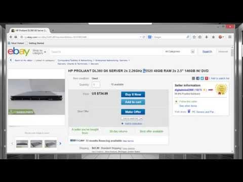 VMware ESXi 5.5 Server with CSR1000V Specs
