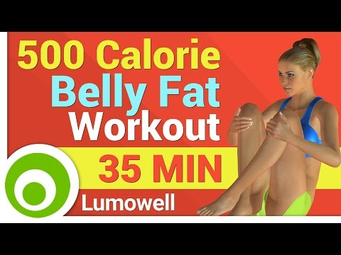 500 Calorie Belly Fat Workout