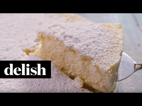 3 Ingredient Baked Cheesecake | Delish