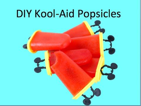 DIY Kool Aid Popsicles