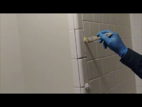 How To Install Bull Nose Trim Tiles On Outside Corner Of Shower Wall - Step By Step