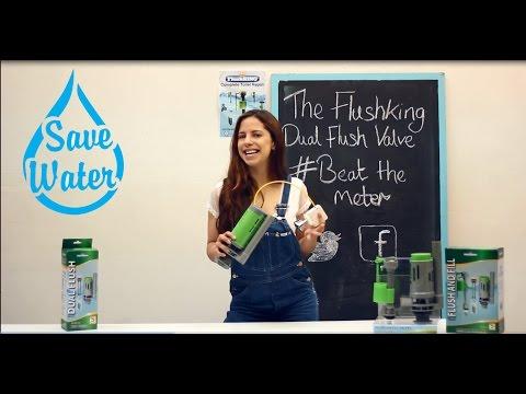 Saving Water & Bills With FlushKING #CanYouBeatTheMeter