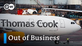 Thomas Cook collapse: 600,000 fear being stranded abroard   DW News