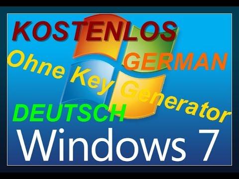 Kostenlose Windows 7 Key's   Windows 7 Product Key for free [Home/Professional/Enterprise] [Deutsch]