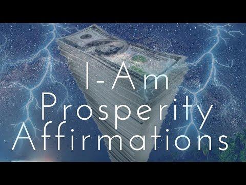 I-AM Prosperity Affirmations!  (Listen for 21 Days!) - 432HZ