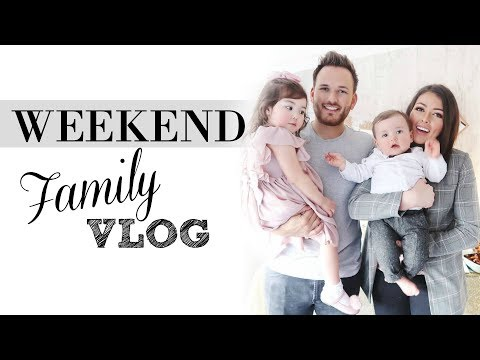FAMILY WEEKEND VLOG | REAL FAMILY LIFE WITH 2 KIDS