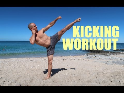 Martial Arts KICKING WORKOUT 2017