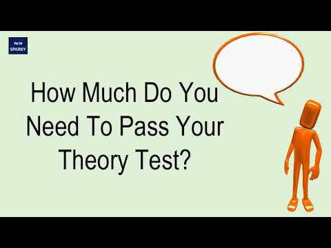 How Much Do You Need To Pass Your Theory Test?
