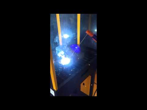 Delta Welding Malaysia- Rilon Digital MIG MAG 300 performing Arc MMA welding