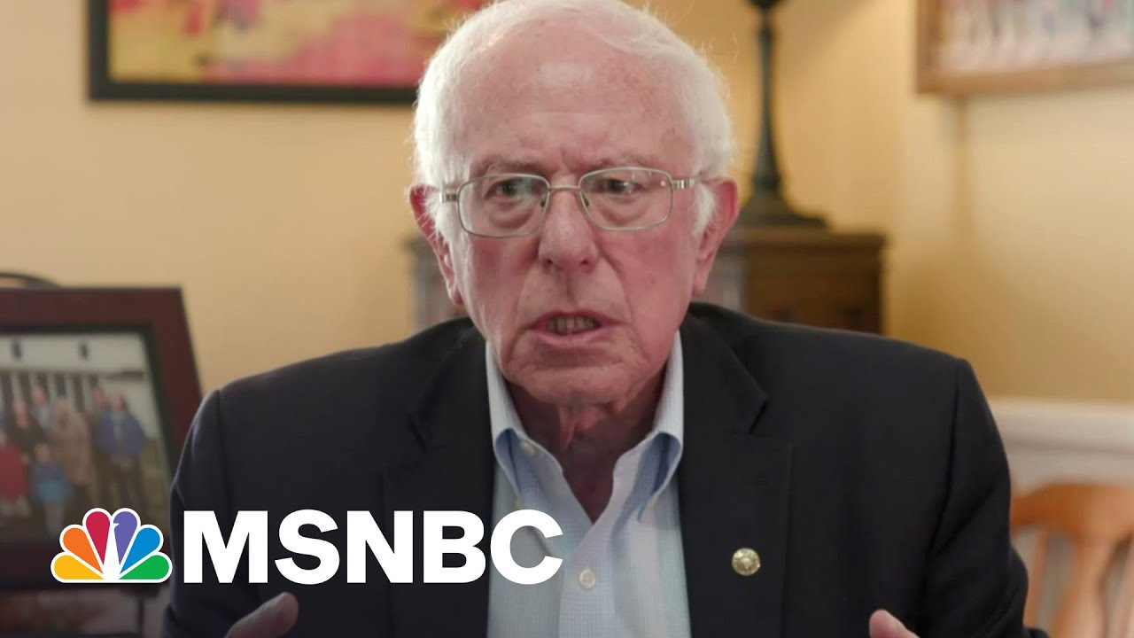 Bernie Sanders: GOP Will Try 'To Obstruct As Much As Possible' Biden's Infrastructure Plan | MSNBC