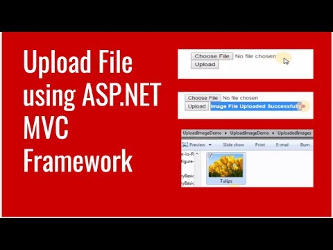 How to Upload File using ASP.NET MVC Framework