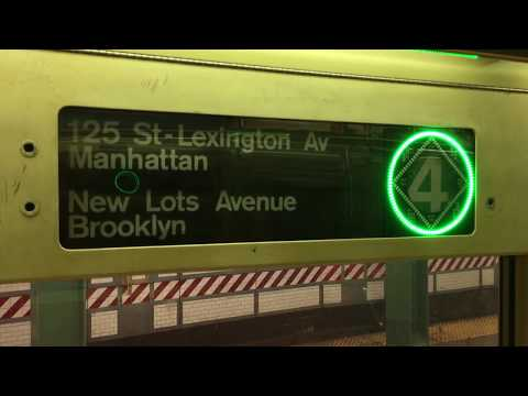 EXCLUSIVE: On-Board a New Lots Av bound R62A (4) Train from Canal St to Atlantic Ave-Barclays Center