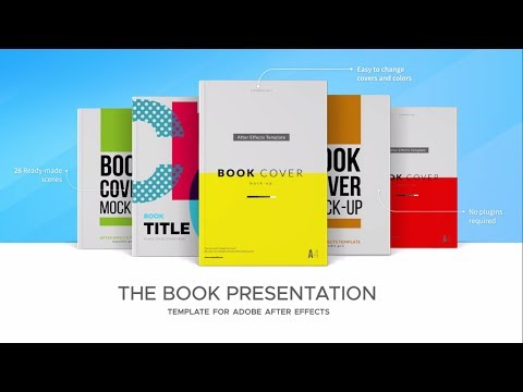 Book Presentation Video - After Effects Template