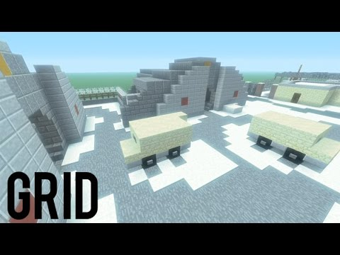 Grid - Call of Duty: Black Ops | Minecraft PS3 PS3 PSVITA Map Remake + DOWNLOAD LINK