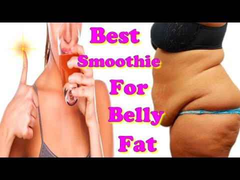 best smoothie for belly fat