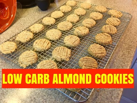 How to make ketogenic, low carb friendly almond cookies