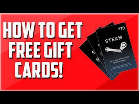 HOW TO GET FREE STEAM GIFT CARDS! 100$ FREE!