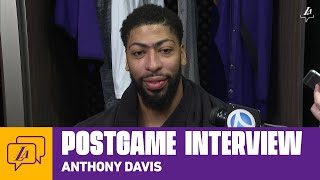 Lakers Postgame: Anthony Davis (3/8/20)