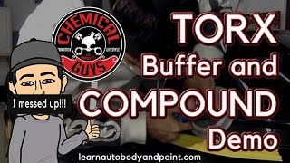Chemical Guys Torx Buffer and Compound Demo